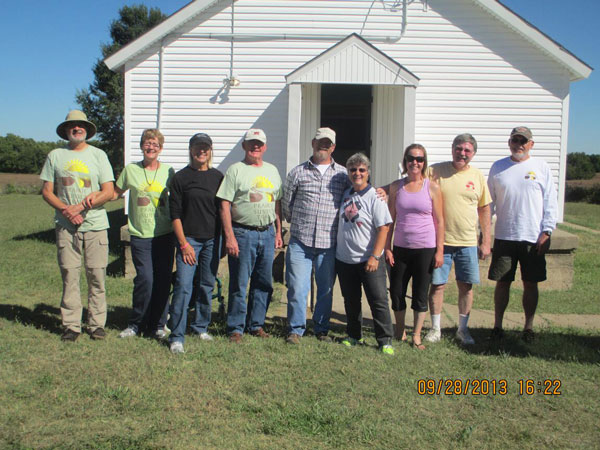 Prairie Travelers group photo