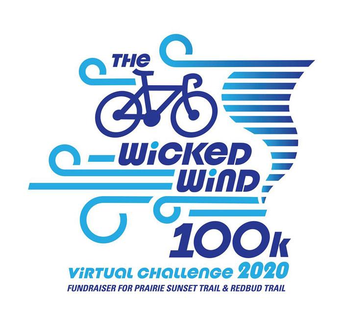 Wicked Wind 100K bike race logo