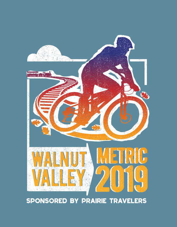 Walnut Valley Metric 2019 poster design