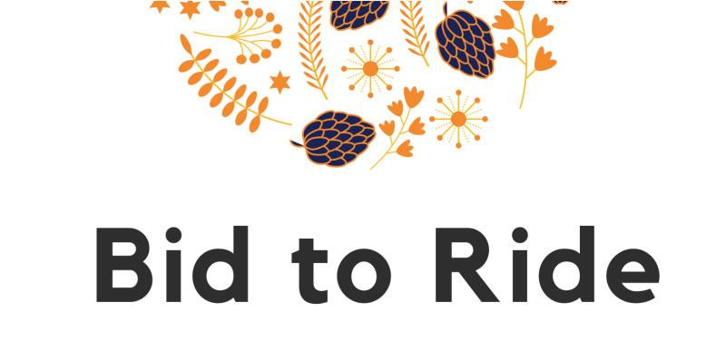 Bid to ride banner